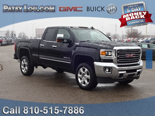 new 2017 gmc sierra 2500hd slt double cab in flint 7 2050 patsy lou automotive. Black Bedroom Furniture Sets. Home Design Ideas